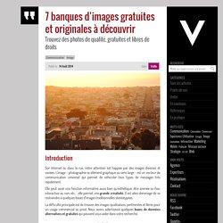 7 banques d'images gratuites et originales à découvrir - 1000 Volts, le blog