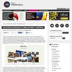 Des photos gratuites et libres de droit : Photopin