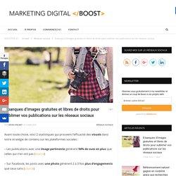 8 banques d'images gratuites et libres de droits pour sublimer vos publications sur les réseaux sociaux