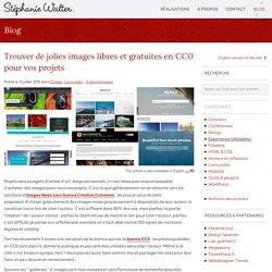 Trouver de jolies images libres et gratuites en CC0 pour vos projets - Stéphanie Walter : Webdesign et mobile, UX et UI design