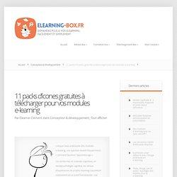 11 packs d'icônes gratuites pour vos modules e-learning à télécharger