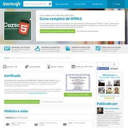 Curso gratuito de Curso completo de HTML5 grátis - curso online de Curso completo de HTML5 com certificado