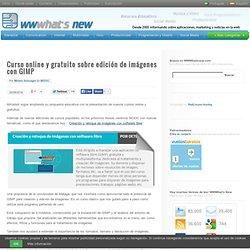 Curso online y gratuito sobre edición de imágenes con GIMP