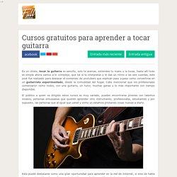 Cursos gratuitos para aprender a tocar guitarra