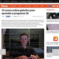 10 cursos online gratuitos para aprender a programar (II)