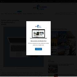Cursos online gratuitos de arquitectura y diseño