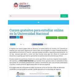 Cursos gratuitos para estudiar online en la Universidad Nacional