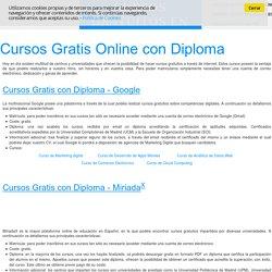 Cursos gratuitos online - Formación online gratis, aprende sin costes.