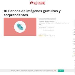 10 Bancos de imágenes gratuitos y sorprendentes