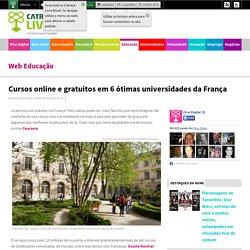 Cursos online e gratuitos em 6 ótimas universidades da França