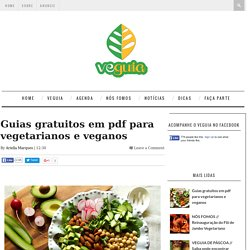 RMR: Guias gratuitos em pdf para vegetarianos e veganos