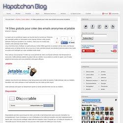 14 Sites gratuits pour créer des emails anonymes et jetable