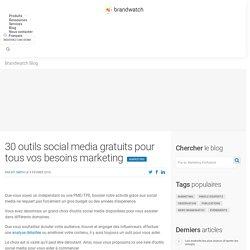 30 outils social media gratuits pour tous vos besoins marketing