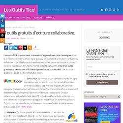 3 outils gratuits d'ecriture collaborative. – Les Outils Tice