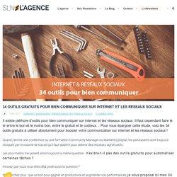 34 outils gratuits pour bien communiquer sur internet et les réseaux sociaux