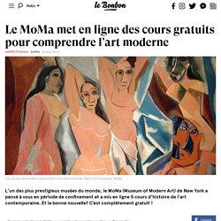 Le MoMa met en ligne des cours gratuits pour comprendre l'art moderne