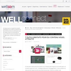 7 outils gratuits pour du contenu visuel attractif