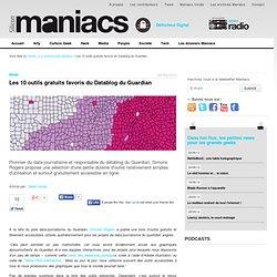 Les 10 outils gratuits favoris du Datablog du Guardian