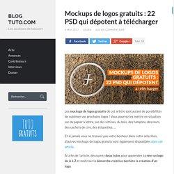 Mockups de logos gratuits : 22 PSD qui dépotent à télécharger