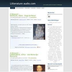 Livres audio gratuits à écouter et télécharger