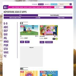 Répertoire de jeux en ligne de TFO : un univers éducatif et ludique