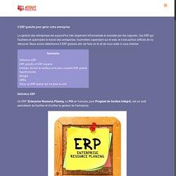 5 ERP gratuits pour gérer votre entreprise