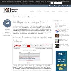 10 outils gratuits d'envoi de gros fichiers - Benjamin Yeurc'h