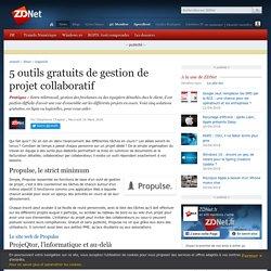 5 outils gratuits de gestion de projet collaboratif - ZDNet