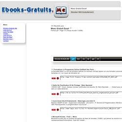 Mooc Gratuit Excel.pdf : 101 ...