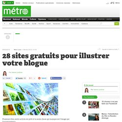 28 sites gratuits pour illustrer votre blogue