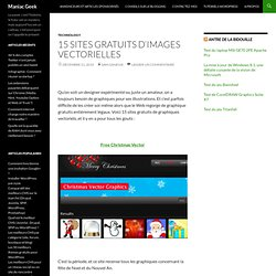 15 sites gratuits d'images vectorielles