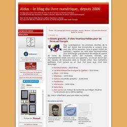Ebooks gratuits : 9 sites incontournables pour les livres en français