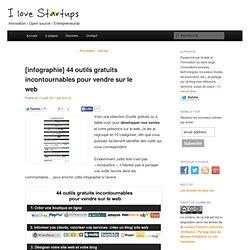 44 outils gratuits incontournables pour vendre sur le web
