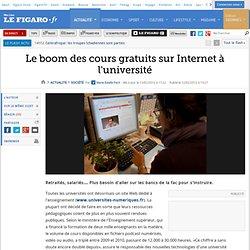 France : Université: le boom des cours gratuits sur Internet