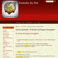 Ebooks gratuits en langues étrangères