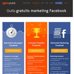 Outils gratuits marketing Facebook