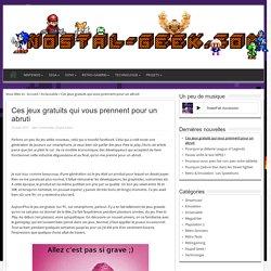 Ces jeux gratuits qui vous prennent pour un abruti - Nostal-GeekNostal-Geek