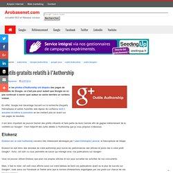 5 outils gratuits relatifs à l'Authorship