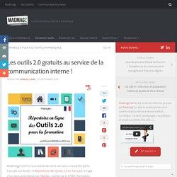 Les outils 2.0 gratuits au service de la communication interne !