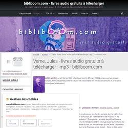 Verne, Jules - livres audio gratuits à télécharger - mp3 - bibliboom.com
