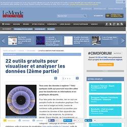 22 outils gratuits pour visualiser et analyser les données (2ème partie)