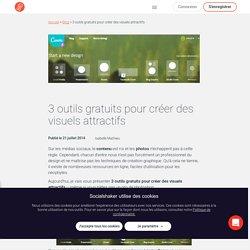3 outils gratuits pour créer des visuels attractifs - Socialshaker