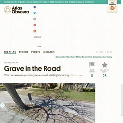 Grave in the Road – Hearne, Texas
