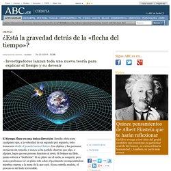 ¿Está la gravedad detrás de la «flecha del tiempo»?