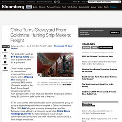 China Turns Graveyard From Goldmine Hurting Ship Makers: Freight - Bloomberg - Pale Moon