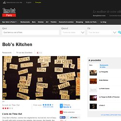 Bob's Kitchen, 74 rue des Gravilliers 3e Paris