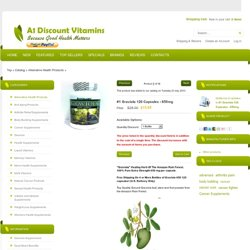 Graviola - A-1 Discount Vitamins - Health Supplements Store