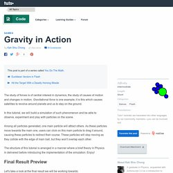 Gravity in Action - Tuts+ Code Tutorial