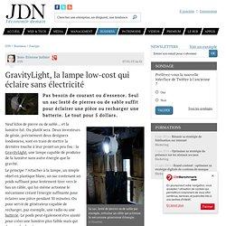GravityLight, la lampe low-cost qui éclaire sans électricité