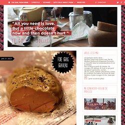 foie gras façon gravlax